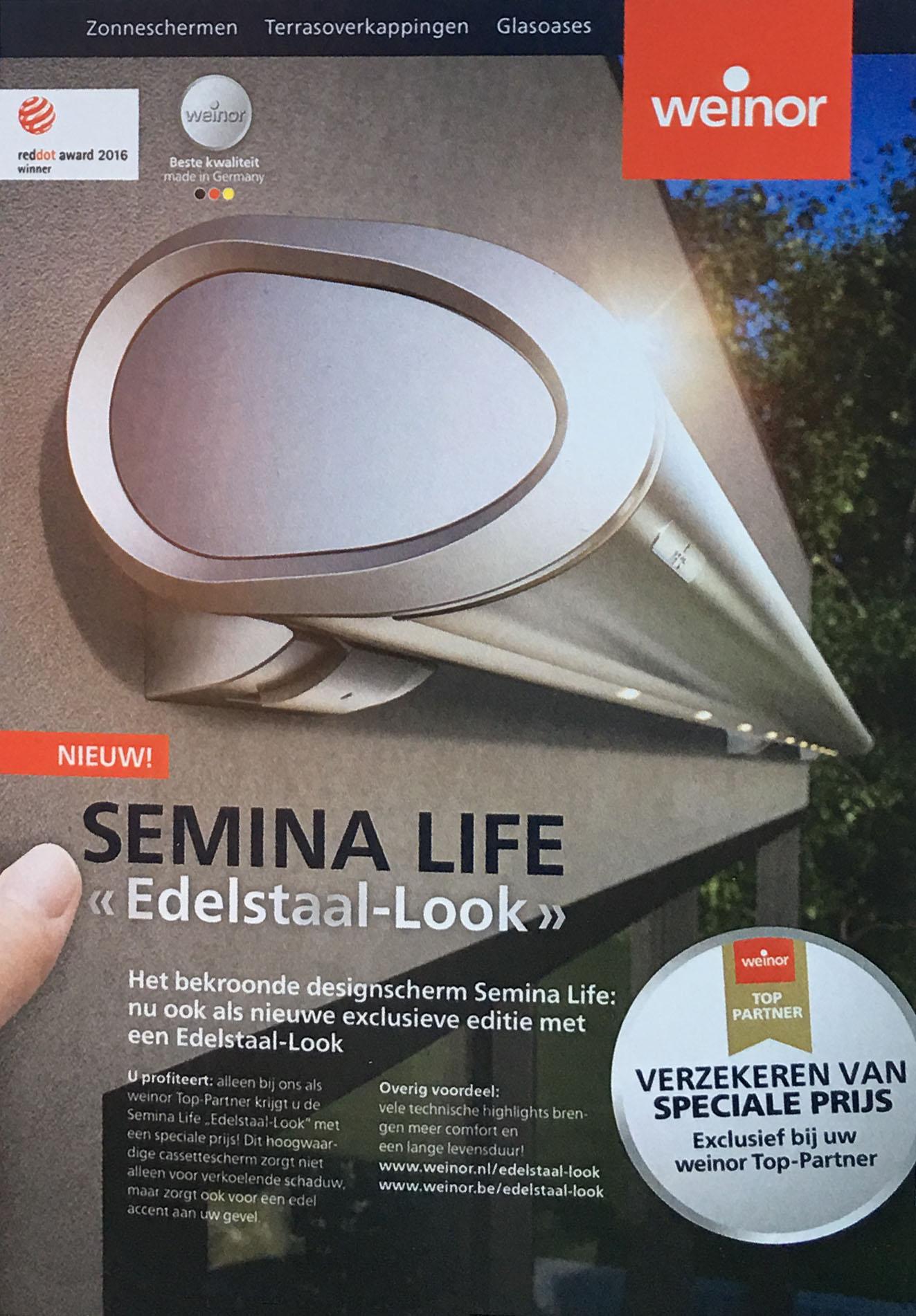 "Semina Life ""Edelstaal-look"""